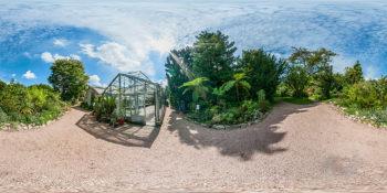 Botanischer Garten Darmstadt - Gewächshaus