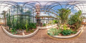 Botanischer Garten Darmstadt – Sukkulentenhaus
