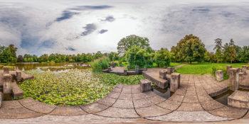 Botanischer Garten Karlsruhe - Teich