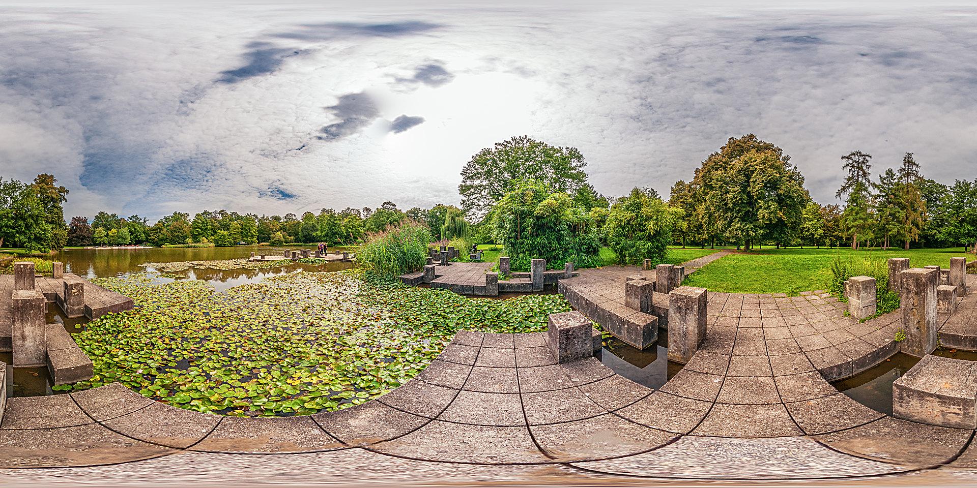 Botanischer Garten Karlsruhe - Teich - Botanischer Garten