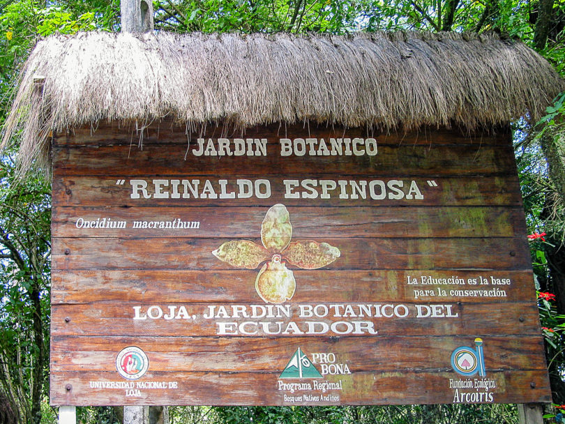 Botanischer Garten Loja - Ecuador