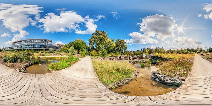 Botanischer Garten Mainz - Orient und Teich