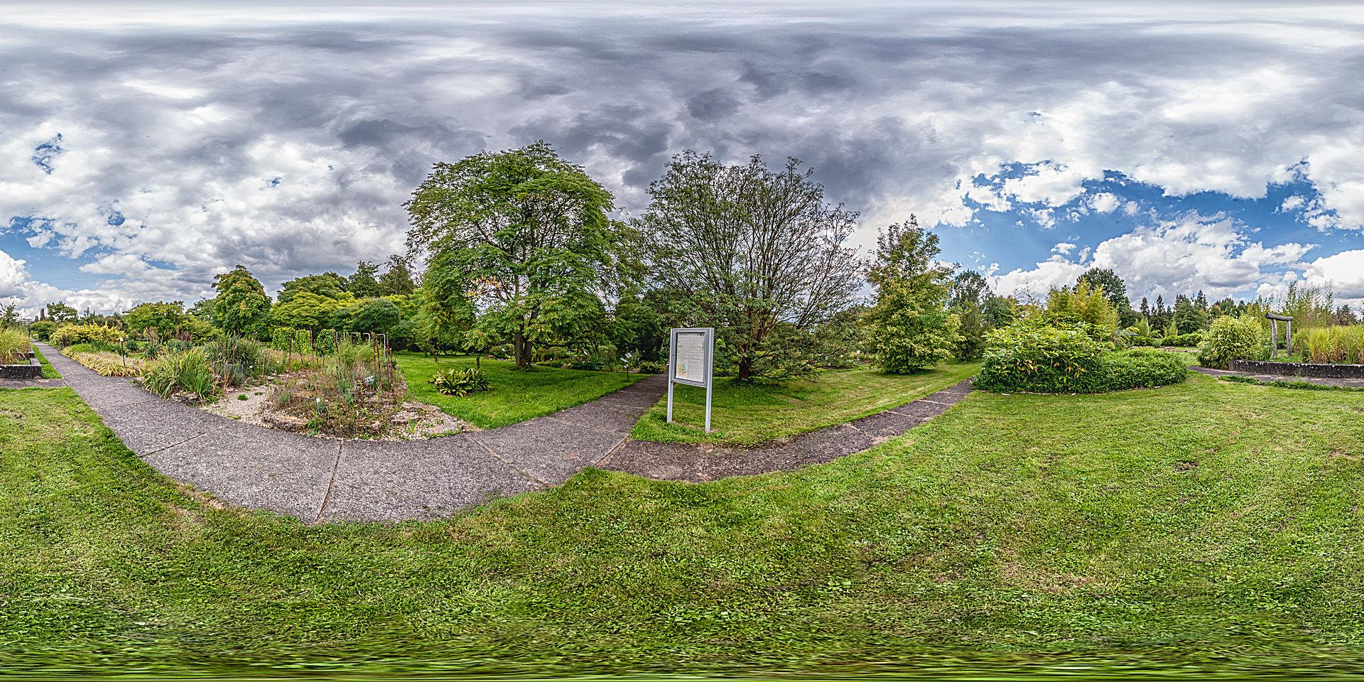 Botanischer Garten Marburg - Freiland