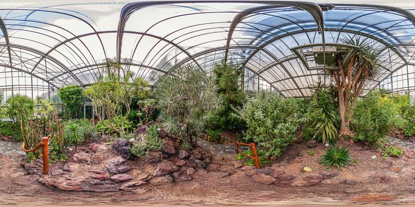 Botanischer Garten Marburg - Kanarenhaus