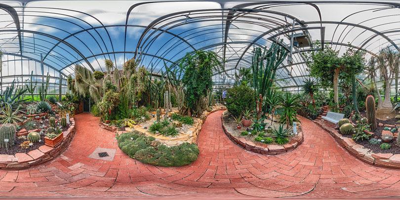 Botanischer Garten Marburg - Sukkulentenhaus