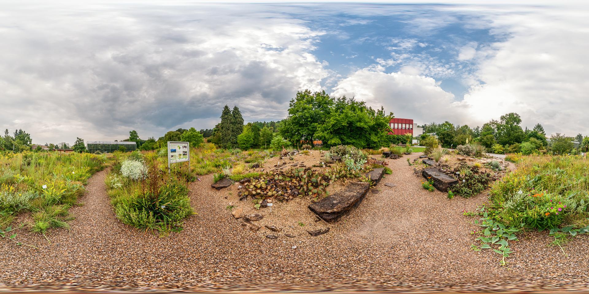 Botanischer Garten Würzburg - Nordamerikanische Prärie