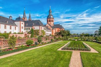 Kräutergarten und Klostergarten in Seligenstadt