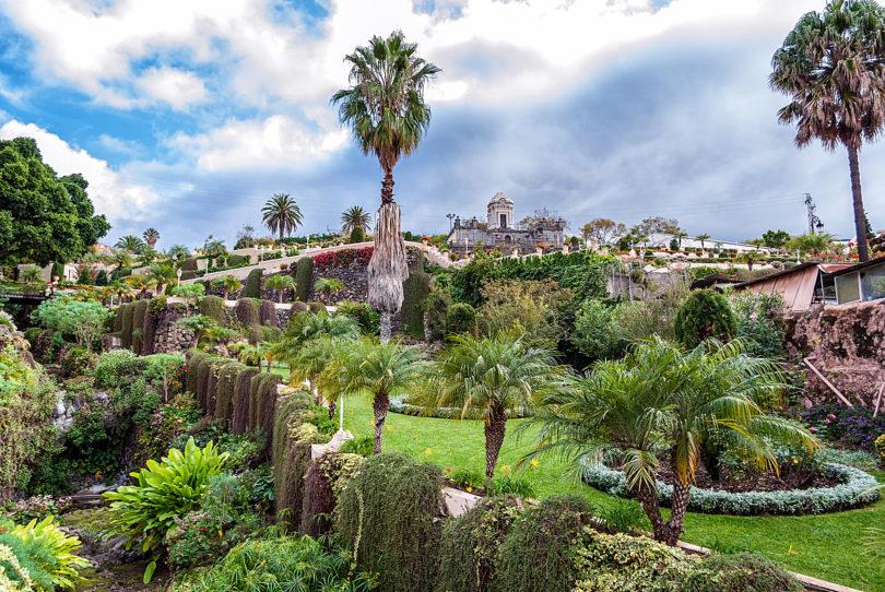Garten La Orotava - Teneriffa